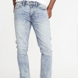 Old Navy Slim Fit Acid Wash Jeans